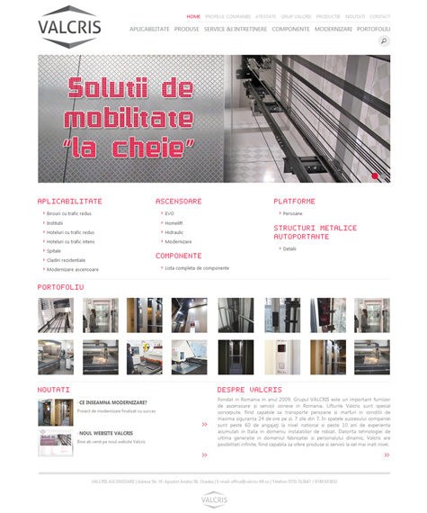 catalog site web design oradea 4