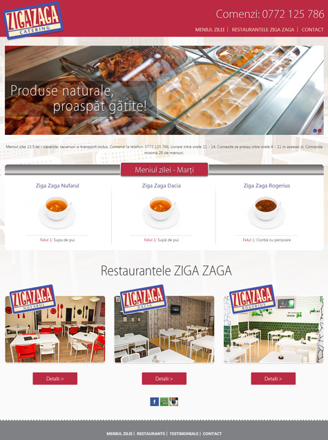 dream factory design web oradea catering ziga zaga